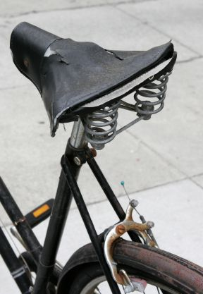 Old Bicycle Seat